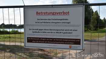 Badeverbot missachtet: Freizeitsee in Wietmarschen-Lohne nun komplett abgeriegelt - noz.de - Neue Osnabrücker Zeitung