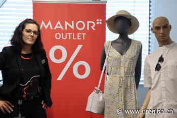 MANOR OUTLET - Neu an der Shoppingmeile in Lyssach[10894] - D'Region