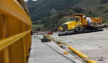 Iniciaron obras para recuperar estabilidad del km 8 de la vía Taraza – Caucasia - W Radio