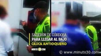 FOTOS Y VIDEO: ¡Pillados! Sorprendieron 3 personas en Caucasia transportadas en ambulancia como si fuera un 'colectivo' - Minuto30.com