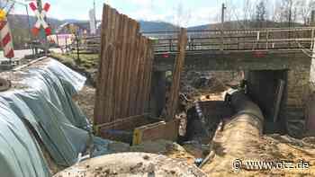 Für Tiefbauarbeiten wird B 88 in Dorndorf-Steudnitz gesperrt