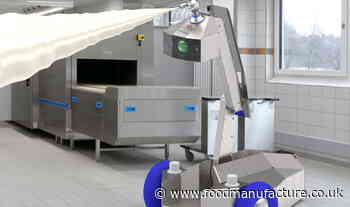 Robot cleaner for food factories developed