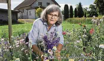 «Blumen schwatzen nicht»: TV-Redaktorin Marianne Erne kann in ihrem Paradies abschalten - Aargauer Zeitung