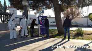 Palmira: instalaron lavamanos en el paseo Juan B. Justo - tiempodeleste.com