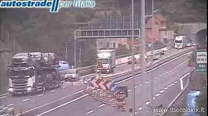 Cantieri, in A12 riaperto in ritardo il tratto tra Chiavari e Sestri Levante. Code sulla A26 e in A10 - Il Secolo XIX