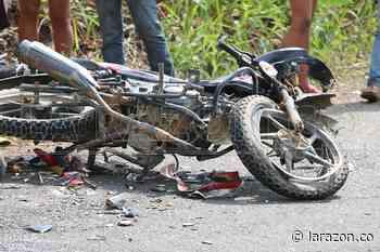 Accidente de moto en zona rural de Chimá, cobra la vida de un campesino - larazon.co
