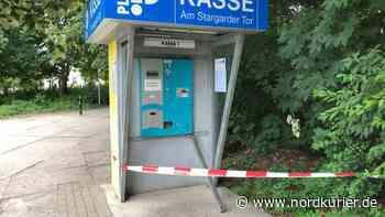 Polizei bittet um Hinweise: Ganoven knacken Parkautomaten auf Divi-Parkplatz - Nordkurier