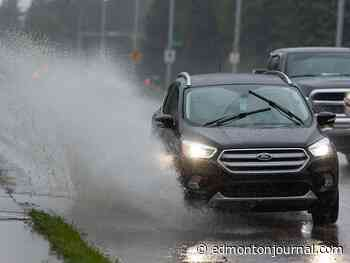 Edmonton weather: In shocking news it might rain again today and now to sports