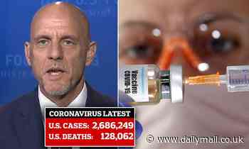 FDA Commissioner Stephen Hahn says U.S. might have to wait until next year for coronavirus vaccine