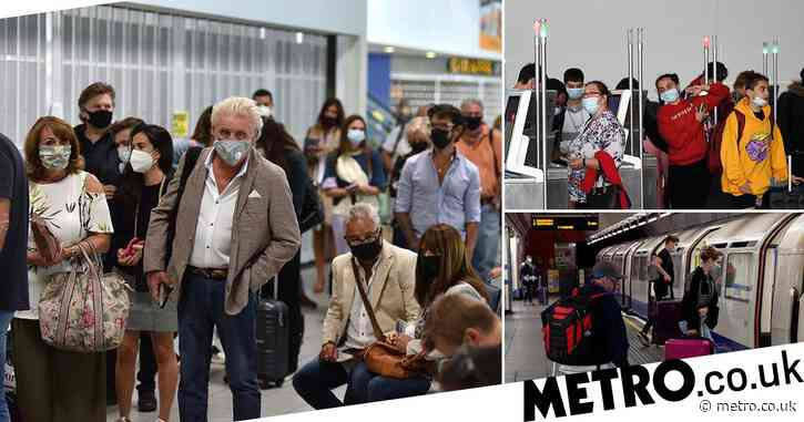 'Quarantined' Brits face no temperature checks and can take public transport