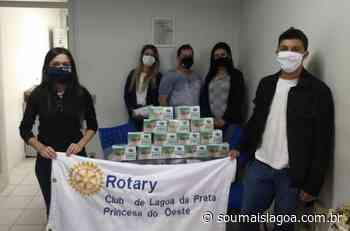 Rotary Club de Lagoa da Prata realiza doação de máscaras para Hospital São Carlos - Sou Mais Lagoa