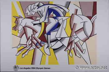 Roy Lichtenstein | Los Angeles Olympic Games (1984) | Available for Sale - Artsy