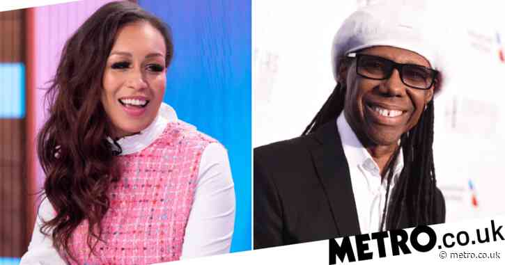 Rebecca Ferguson 'needed' Nile Rodgers to change her outlook on life after she turned her back on music