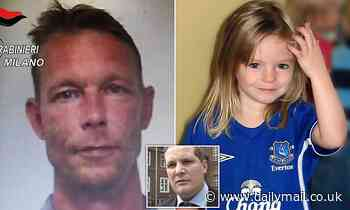 Madeleine McCann suspect Christian Brueckner is 'no psychopathic monster', his lawyer claims