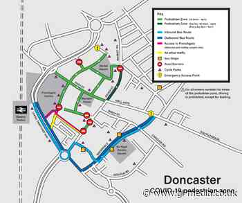Changes to Doncaster's pedestrian zone - Gi Media