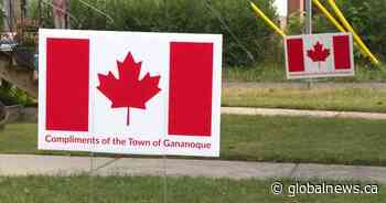 Town of Gananoque, Ont., getting ready for sign-sational Canada Day - Globalnews.ca