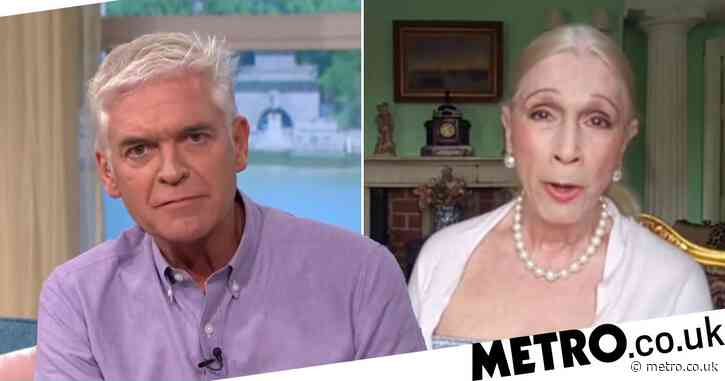 Lady Colin Campbell attacks Phillip Schofield for 'living a lie' before coming out as gay