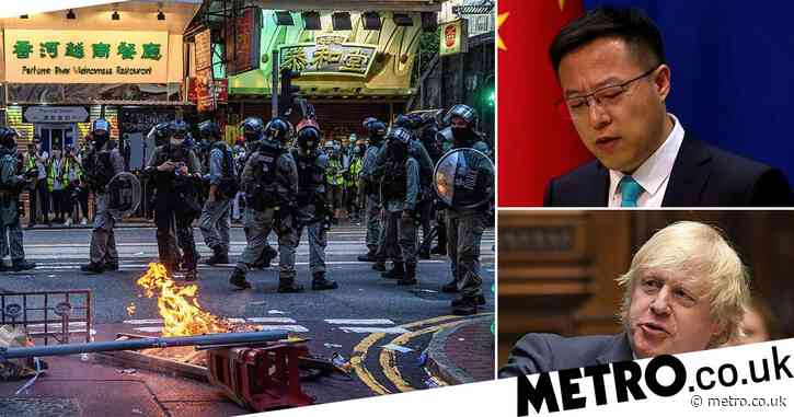 China warns of 'consequences' after Boris offers lifeline to 3,000,000 in Hong Kong