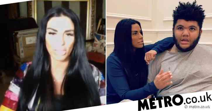 Katie Price hits out at memes of son as she appears before MPs to campaign for 'Harvey's Law'
