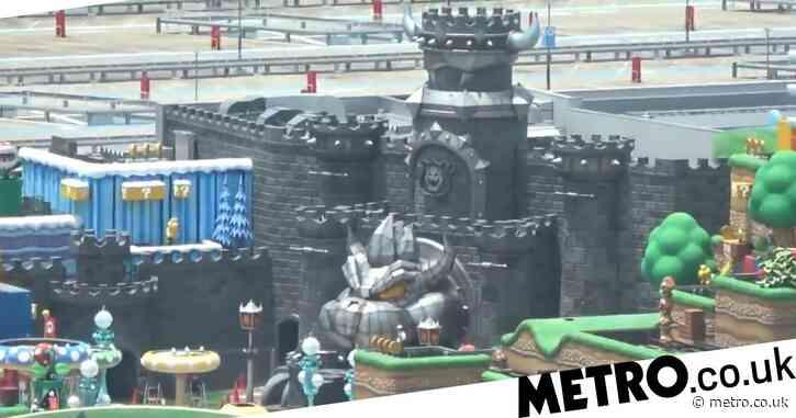 New Super Nintendo World theme park video brings the Mushroom Kingdom to life