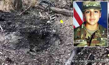 Concrete-covered remains thought to be those of missing soldier