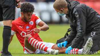 Barnsley: Romal Palmer out for rest of season with knee ligament injury - BBC News