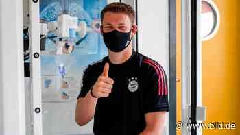 FC Bayern: Alexander Nübel – Medizin-Check bestanden, Unterschrift unter 5-Jahresvertrag - BILD