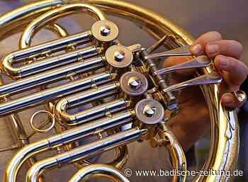 Blasmusiker der Stadt proben in der Schulbuckhalle - Kenzingen - Badische Zeitung
