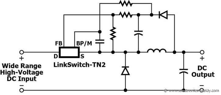 Dc-dc works straight from 400V EV battery