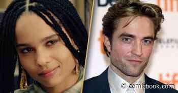 The Batman Star Zoe Kravitz Says Robert Pattinson Was Born to Play the Lead Role - ComicBook.com