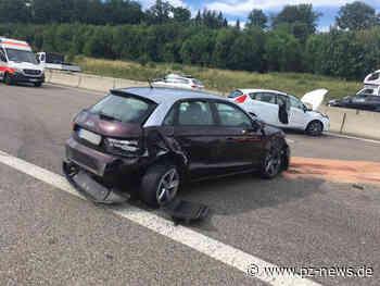 Schwerer Unfall auf A8: Autobahn zwischen zwischen Pforzheim-Süd und Heimsheim voll gesperrt - Pforzheim - Pforzheimer Zeitung