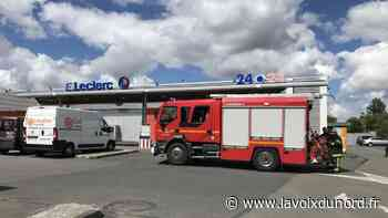 Le magasin Leclerc de Templeuve évacué après une fumée suspecte - La Voix du Nord