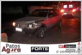 Motorista fica ferida em acidente de trânsito em Patos de Minas - Patos Agora