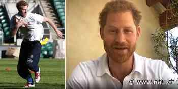 Braungebrannter Prinz Harry: «Vermisse in L.A. Rugby» - Nau.ch