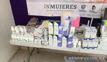 #Cuauhtemoc | Entregan medicamentos a centros comunitarios de la ciudad - Adriana Ruiz