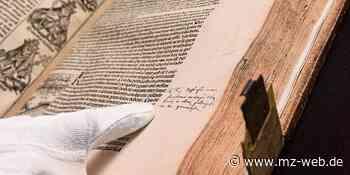 Schedelsche Weltchronik: Stiftsbibliothek Zeitz besitzt Buch von Bischof Julius von Pflug - Mitteldeutsche Zeitung