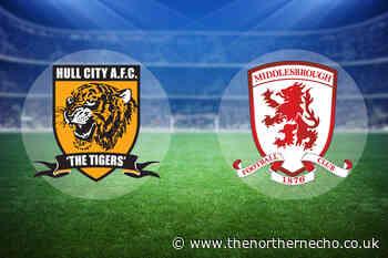 LIVE: Hull City 1 Middlesbrough 1