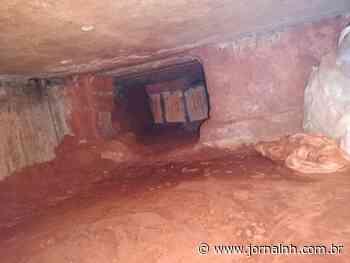 Túnel é descoberto embaixo de uma das camas do presídio de Erechim - Jornal NH