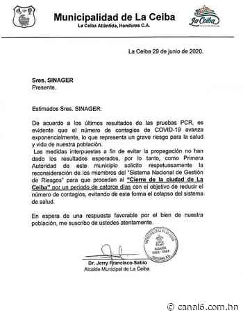 Municipalidad de la Ceiba en Atlántida piden el cierre total de la ciudad - canal6.com.hn