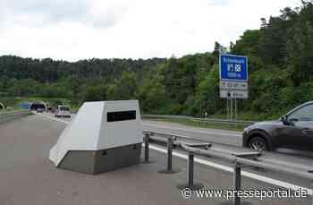 POL-LB: Polizeipräsidium Ludwigsburg setzt ersten Enforcement-Trailer zur Geschwindigkeitsüberwachung ein - Presseportal.de