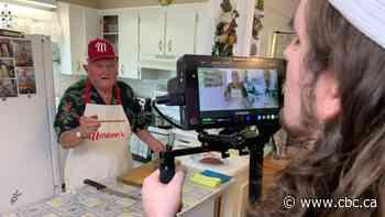 Edmonton senior hosts online cooking show with grandsons - CBC.ca