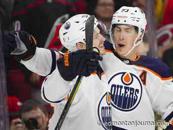 Flat salary cap means Edmonton Oilers will have tough choices on Kris Russell, Ryan Nugent-Hopkins, Adam Larsson and others
