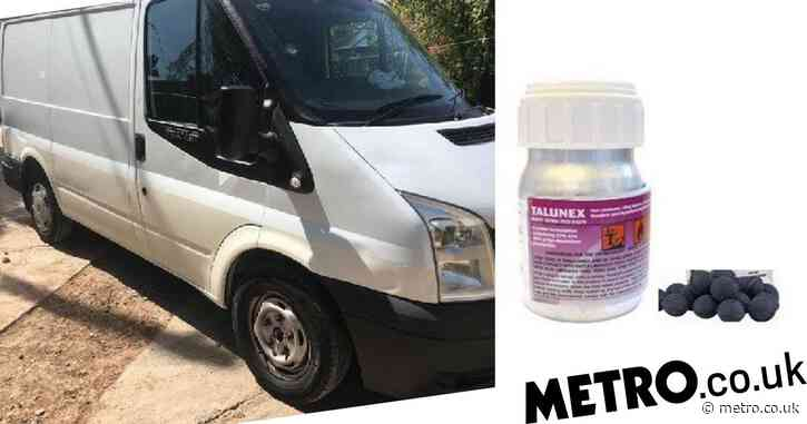 Major incident after extremely toxic rat poison was taken from stolen van