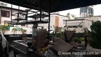 Ciclone também traz prejuízos a restaurantes de Blumenau - NSC Total