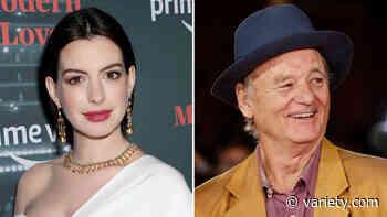 Anne Hathaway, Bill Murray to Star in Dog Drama 'Bum's Rush' - Variety