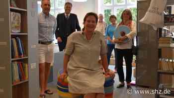Neue Patin der Sylt Bibliothek: Unternehmerin Claudia Ebert sorgt für Sylter Leseratten | shz.de - shz.de