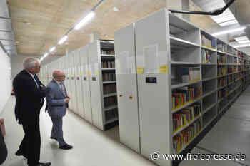 Erste Einblicke in die neue Uni-Bibliothek - Freie Presse