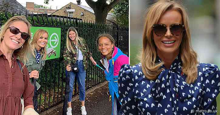 Amanda Holden 'literally cried' as she's finally reunited with her mates after lockdown