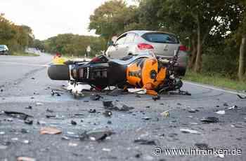 Motorradunfall in Sailauf: Fahrer ohne Helmvisier im Gesicht verletzt - inFranken.de
