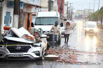 Ciclone atinge quase toda a cidade de Lages; 64 bairros foram afetados - NSC Total